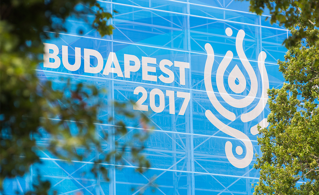 Graphasel Design Studio - 17. FINA World Championships, Budapest 2017 – arculat - Arculat Csomagolás Print Termék tervezés
