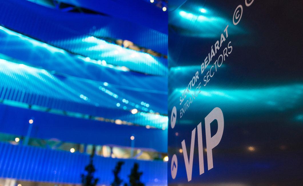 Graphasel Design Studio - 17. FINA World Championships és Duna Aréna – Navigációs rendszer - Arculat Enteriőr Navigáció Print