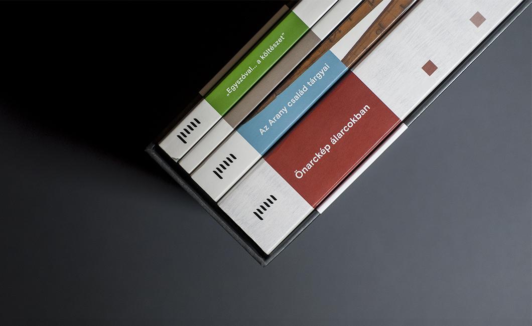 Graphasel Design Studio - Könyvsorozat a Petőfi Irodalmi Múzeumnak - Print