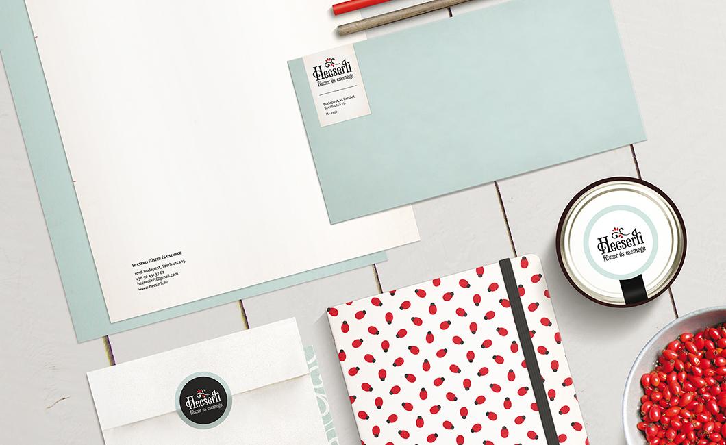 Graphasel Design Studio - Hecserli Biofűszer és Csemege - Arculat Print