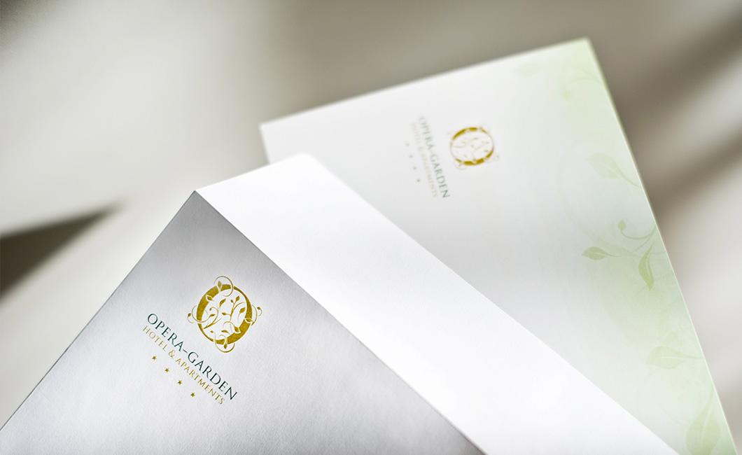 Graphasel Design Studio - Hotel Opera Garden - Arculat Print