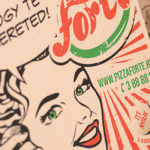 Pizza Forte csomagolás