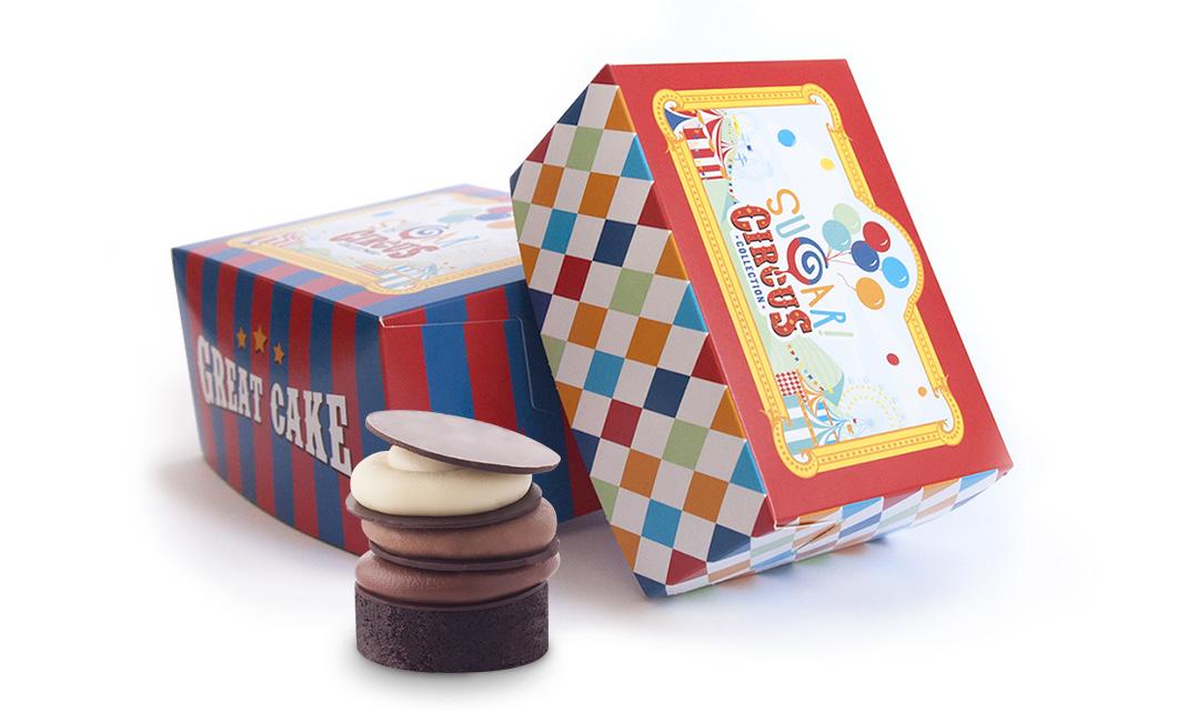 Graphasel Design Studio - Sugar! Cirkusz Kollekció - Csomagolás