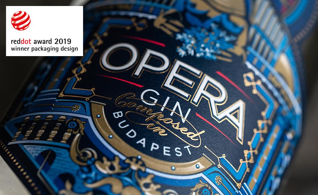 Graphasel Design Studio - OPERA GIN - Arculat Csomagolás