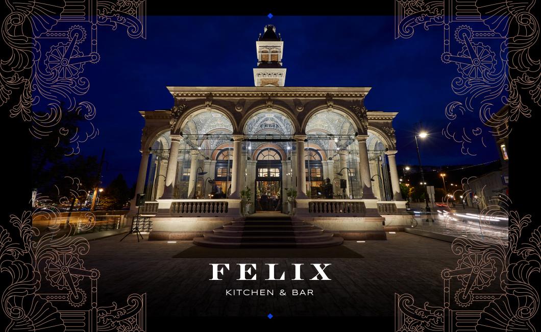 Graphasel Design Studio - FELIX Kitchen and Bar - Arculat Print